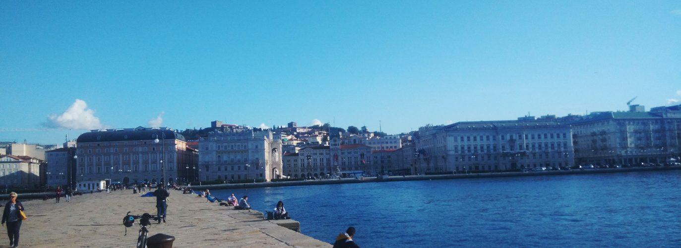 Trieste dal Molo Audace