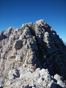 Punta Plagnis dal Monte Cregnedul