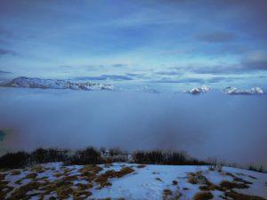 Le Alpi Giulie dal Matajur