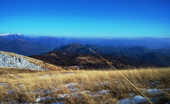 Salita Monte Matajur Versante sud