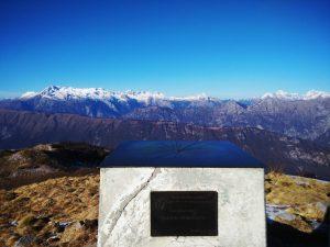 In cima al Monte Matajur
