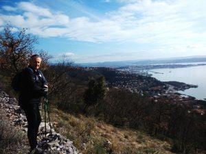 Sul Ciglione Carsico verso Trieste