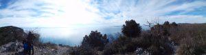 Panoramica Costiera Triestina dal Ciglione Carsico
