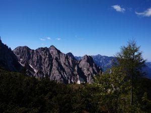 Il Monte Crostis ed il Bivacco Bianchi