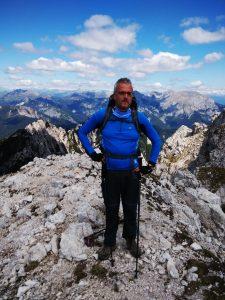 Soppressata di Gofvg in cima al Monte Chiavals
