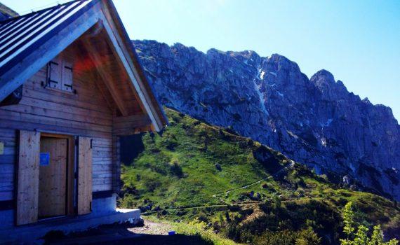 Bivacco Bianchi Anello Val Alba e Salita Monte Chiavals