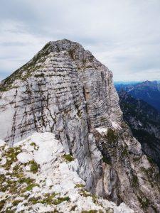 Il Monte Zabus dalla sella