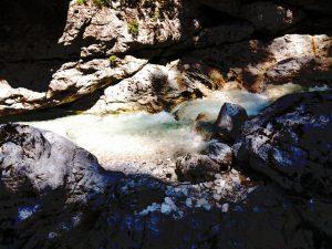 Acqua del percorso del Rio Repepeit