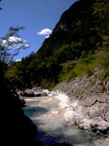Scendendo verso la Val Raccolana