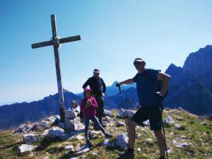 In Cima allo Jof di Somdogna Croce di Vetta